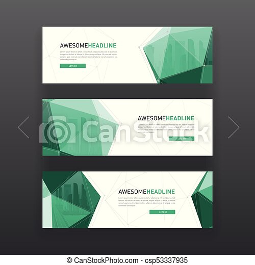 3d lowpoly solid corporate web banner template 3d lowpoly solid 3d lowpoly solid corporate web banner template csp53337935 maxwellsz