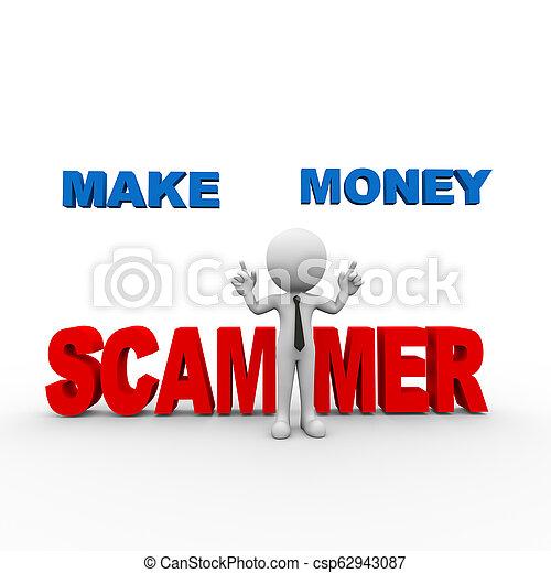 how to make money scamming online