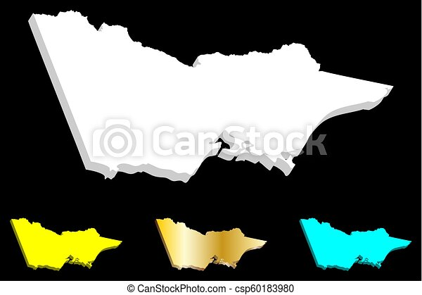Free 3d Map Of Australia.3d Map Of Victoria