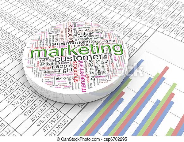 3d marketing - csp6702295