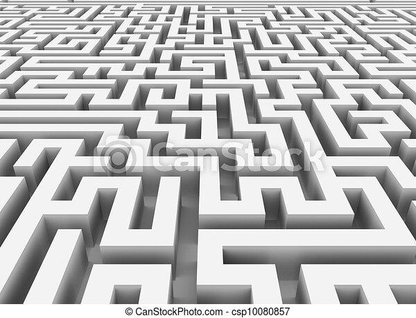 3d maze - csp10080857