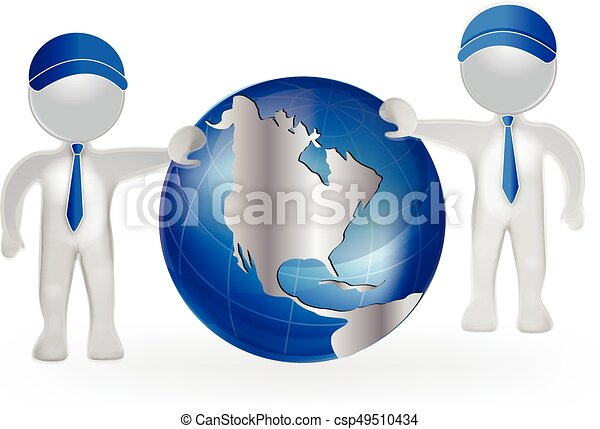 3d men with world map globe vector logo vectors search clip art 3d men with world map globe csp49510434 gumiabroncs Choice Image