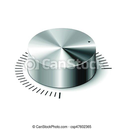 3D metallic volume regulator - csp47602365