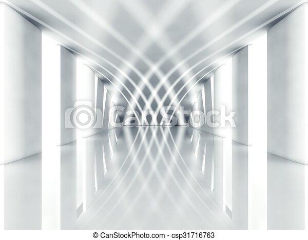 3d modern architecture interior - csp31716763