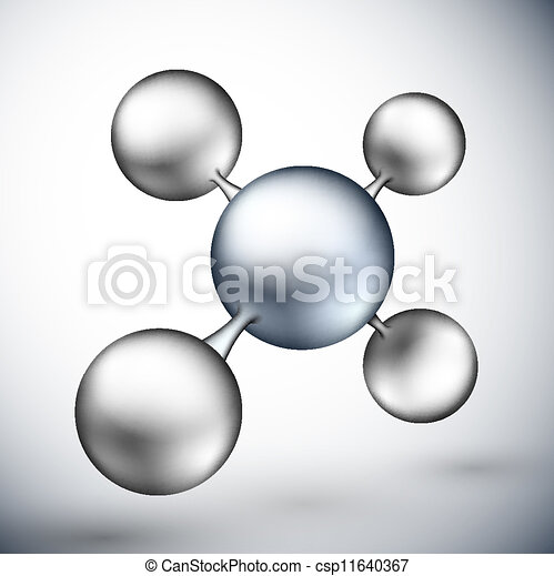 3d molecule - csp11640367