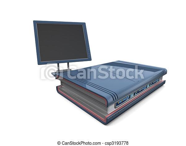 3D Server und Monitor - csp3193778