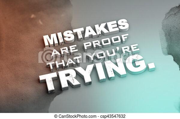 3D Motivational poster - csp43547632