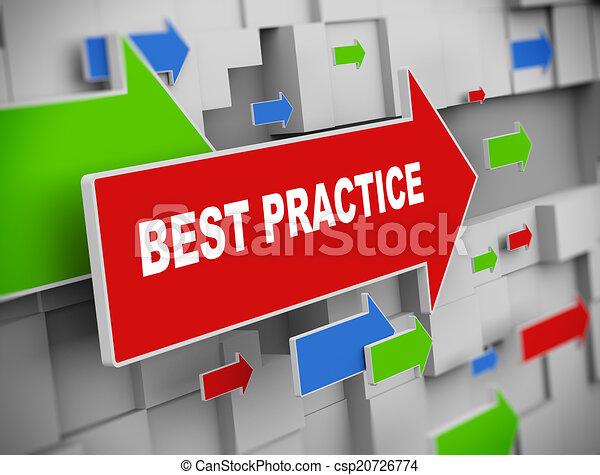 3d moving arrow - best practice - csp20726774