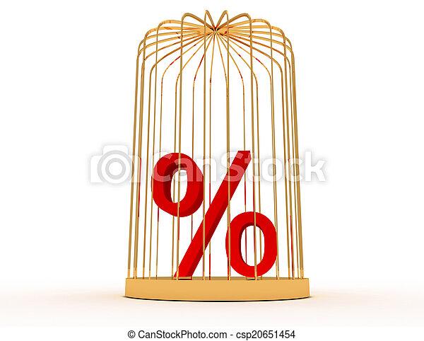 3d percent in cage - csp20651454