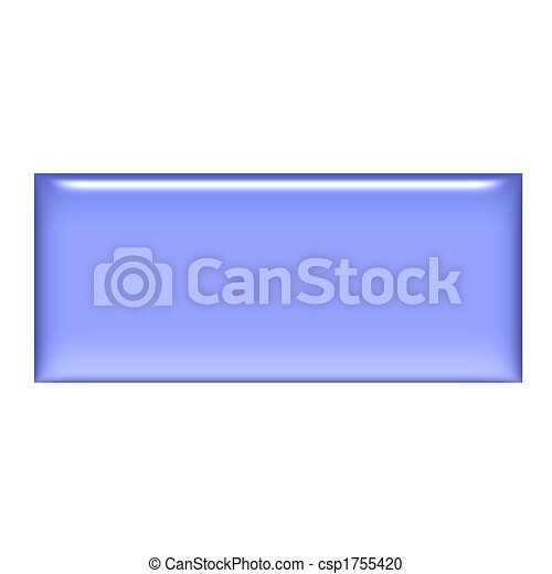 3D Purple Gel Square Button - csp1755420