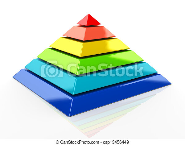 3d pyramid 3d illustration of colorful pyramid drawing search rh canstockphoto com pyramid clip art free pyramid clipart free