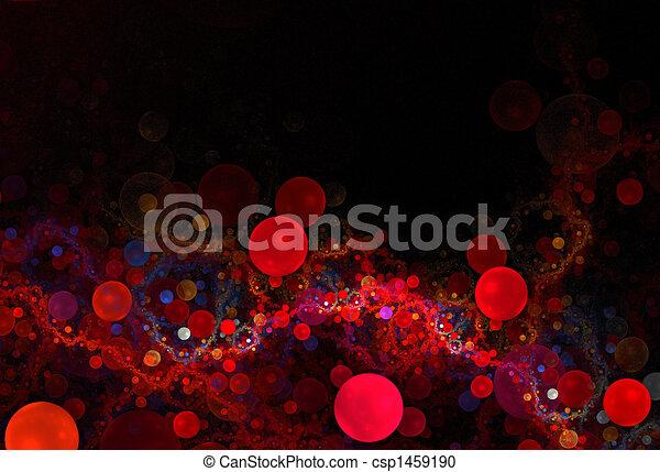 3D Red Cells - csp1459190