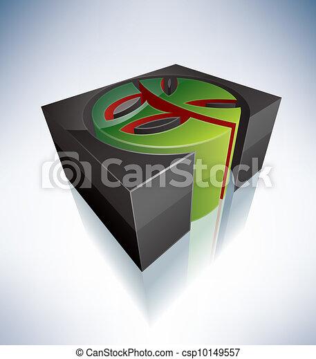 3D Religion: Eckankar - csp10149557