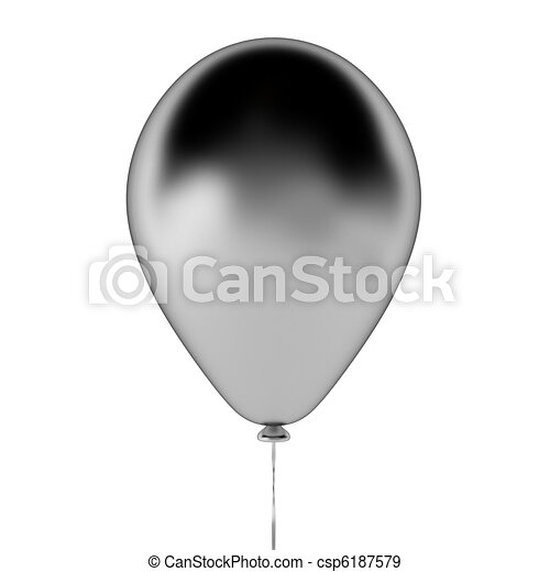 3d render of baloon - csp6187579