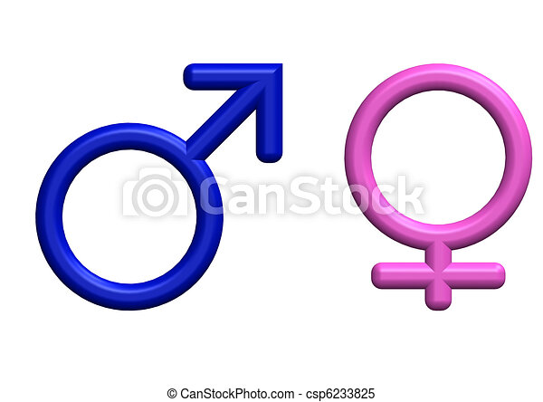 3d Render Of Male And Female Symbols Stock Illustrations Search