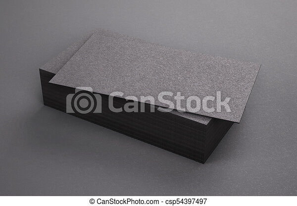 3d rendering of business card blank template black business cards 3d rendering of business card blank template black business cards on black background cheaphphosting Choice Image