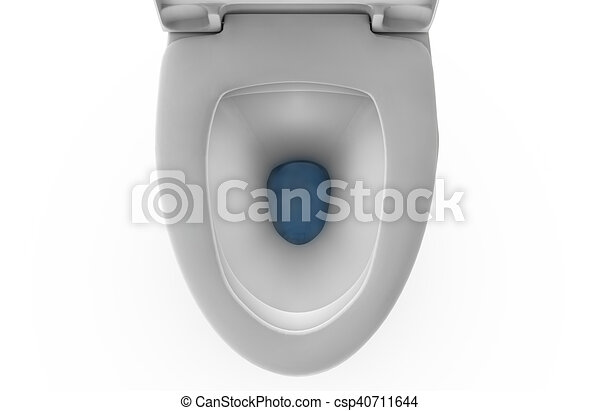 3D rendering toilet seat on top view isolated   csp40711644. 3D rendering toilet seat on top view isolated drawing   Search