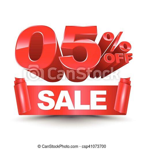 3d SALE zero five percentage off - csp41073700