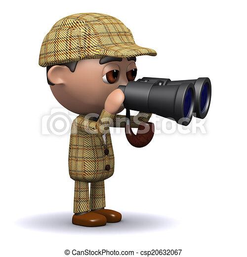 3d Sherlock binoculars - csp20632067