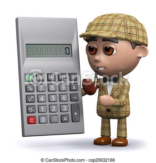3d Sherlock calculates - csp20632166
