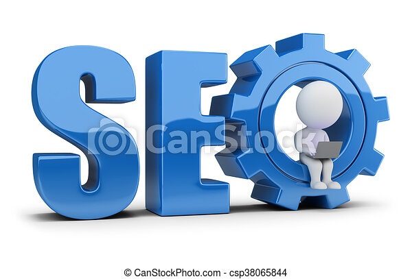 3d small people - SEO - csp38065844