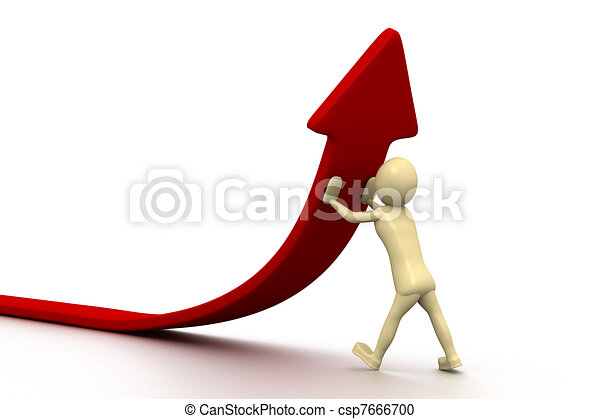 3d small people - statistics  - csp7666700