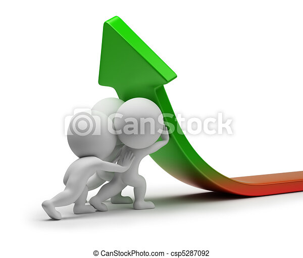 3d small people - statistics improvement - csp5287092
