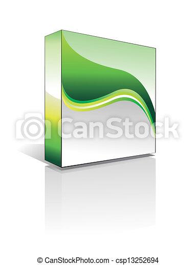 3D Software Box - csp13252694