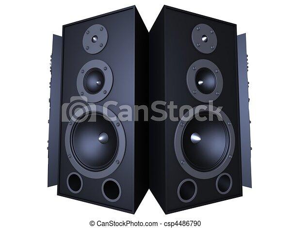 3d speaker - csp4486790