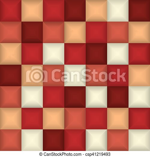 3d square mosaic abstract colorful background design template