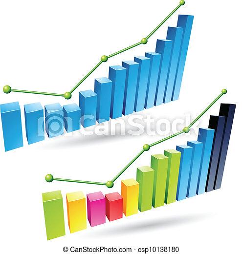 3d Stats Bars - csp10138180