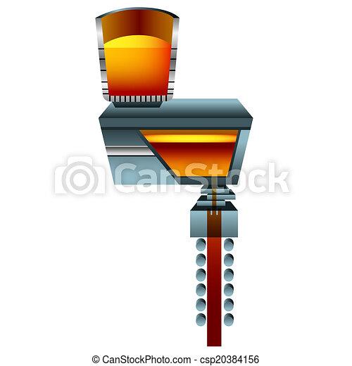 3d Steel Casting - csp20384156