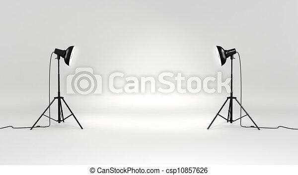 3d studio set - csp10857626