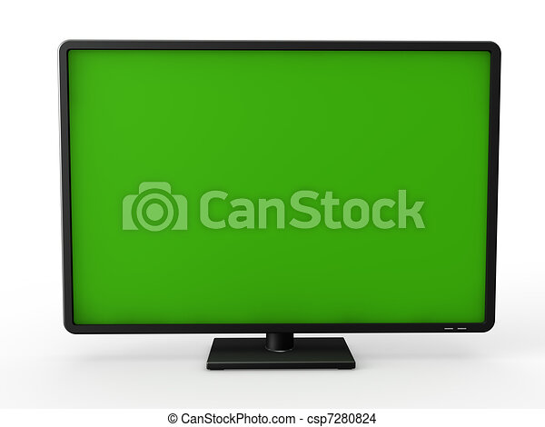 3d television lcd  - csp7280824