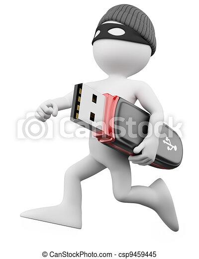 3D Thief - Hacker - csp9459445