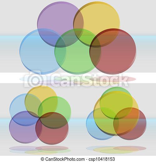 3d Venn Diagram Set An Image Of A 3d Venn Diagram Set