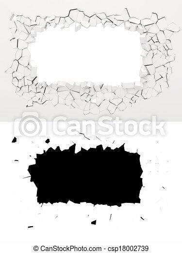 3d wall destruction - csp18002739