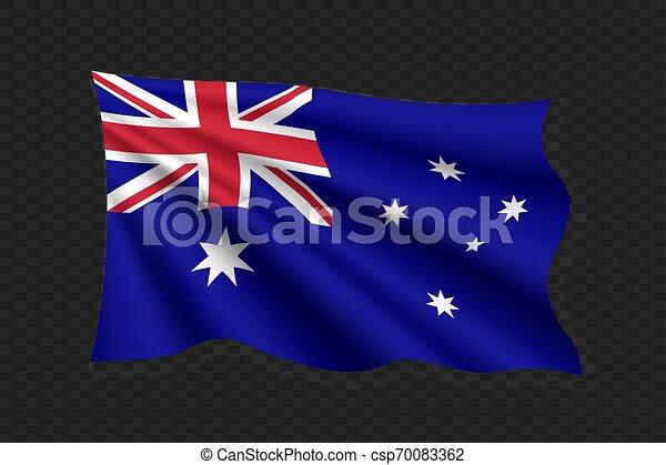 3D Waving Flag - csp70083362