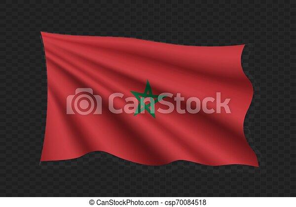 3D Waving Flag - csp70084518
