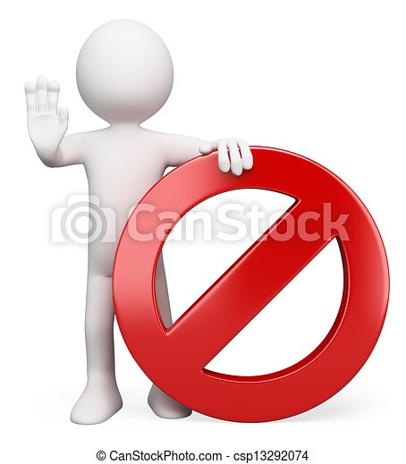 3d white people forbidden sign 3d white person with a free cheer megaphone clipart free megaphone clipart template