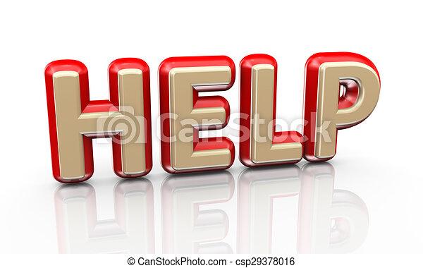 3d word help - csp29378016