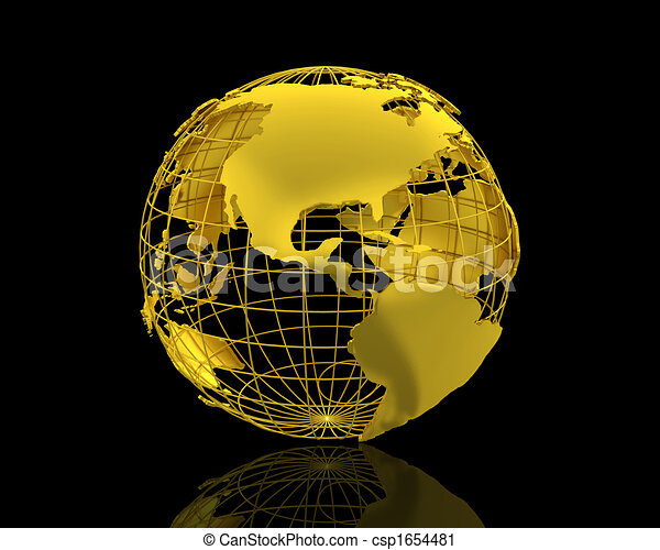 3d world map isolated over a black background 3d world map csp1654481 gumiabroncs Choice Image