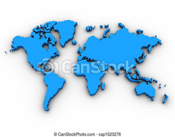 3d world map world map 3d render could be used for anything related 3d world map world map 3d render could be used for anything related to world issues moneytravelinternetwarcrisis communications and various other gumiabroncs Choice Image