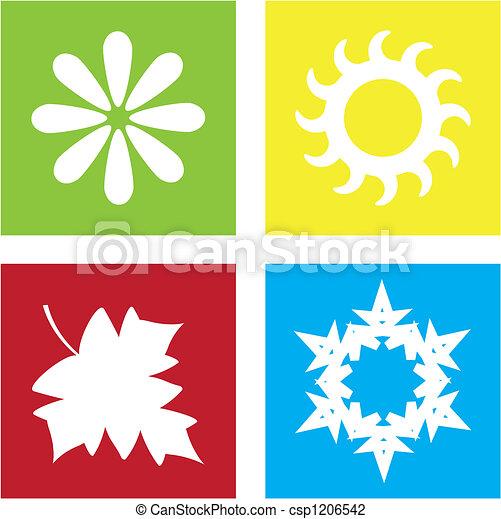 4つの季節 - csp1206542