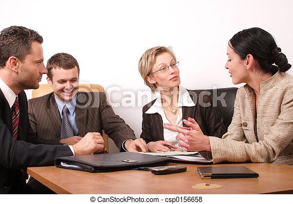 4, ビジネス 人々 - csp0156658