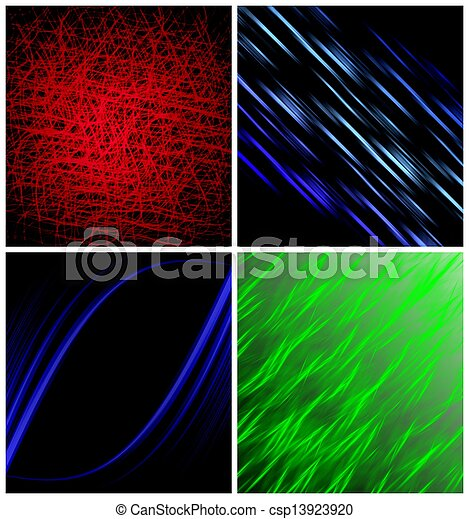 4 abstract light background - csp13923920