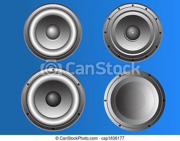 4 Loudspeakers 3 - csp1636177