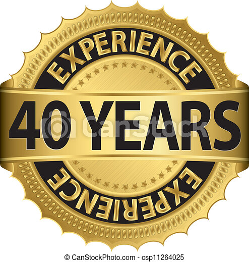 40 years experience - csp11264025