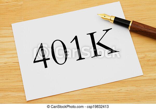401K Planning - csp19832413