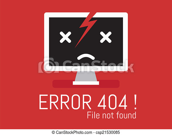 404 Error file not found on website page - csp21530085